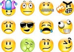 Emoticons do facebook